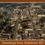 That Melvin Bray Asheboro Aerial View